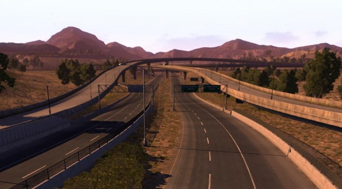 MORE PICTURES FROM THE AMERICAN TRUCK SIMULATOR GAME (4)