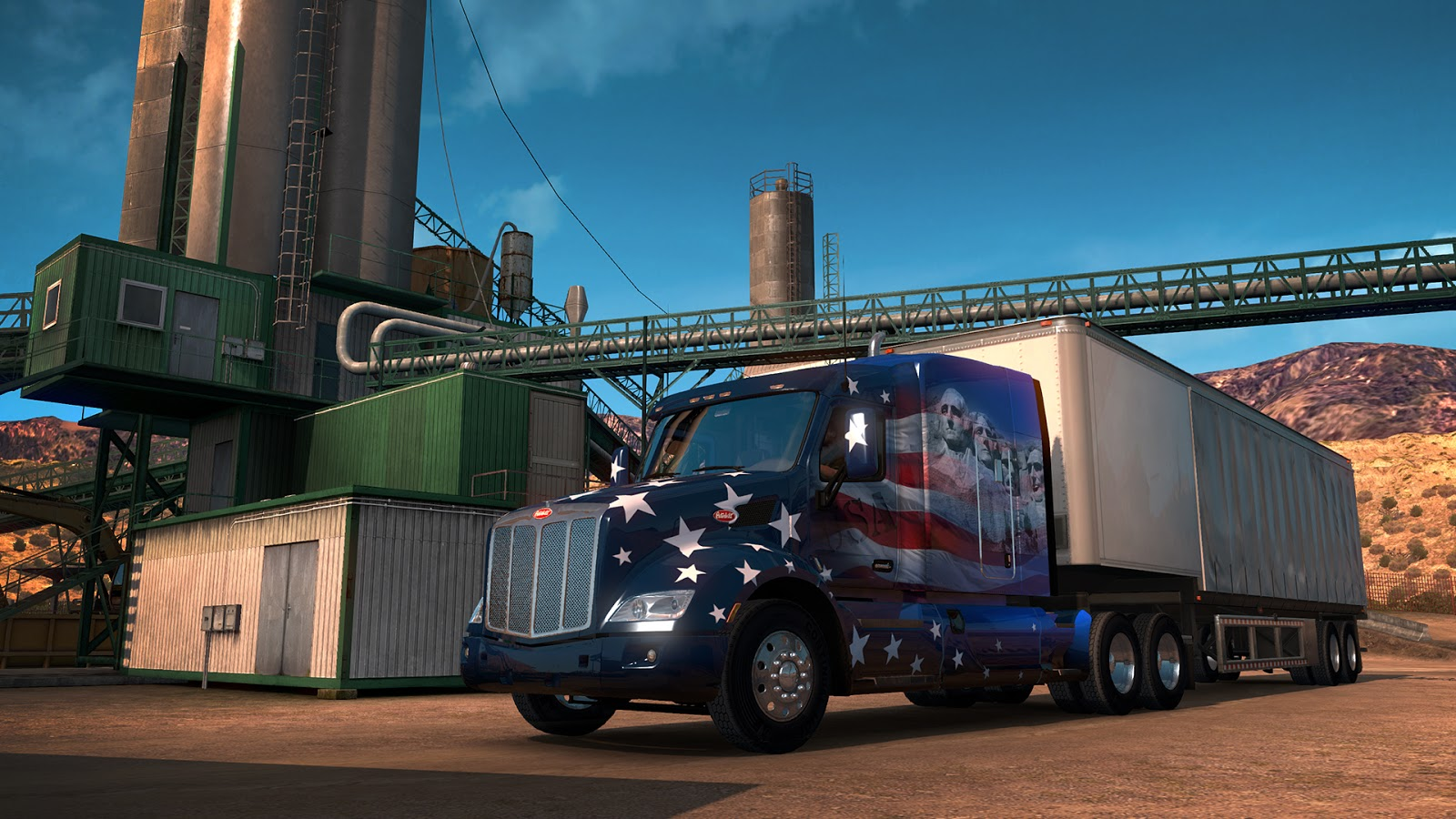download ats american truck simulator game. Black Bedroom Furniture Sets. Home Design Ideas