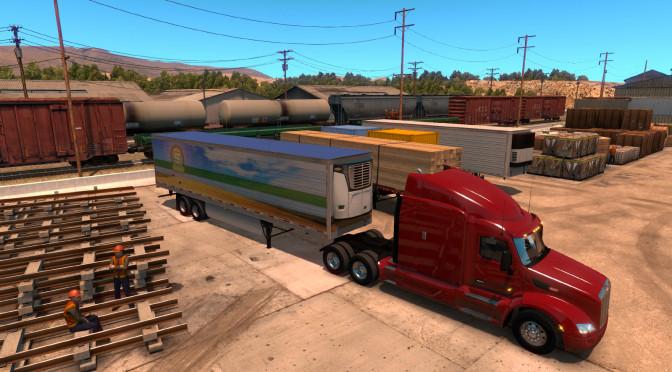 Longer trailers in American Truck Simulator (1)