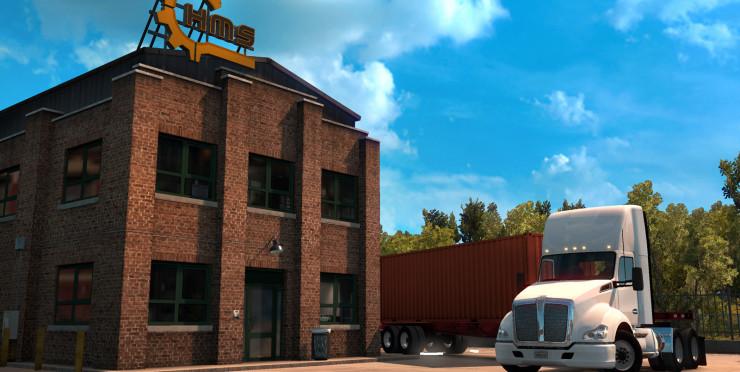 Tractor-trailer Challenges. ATS (2)