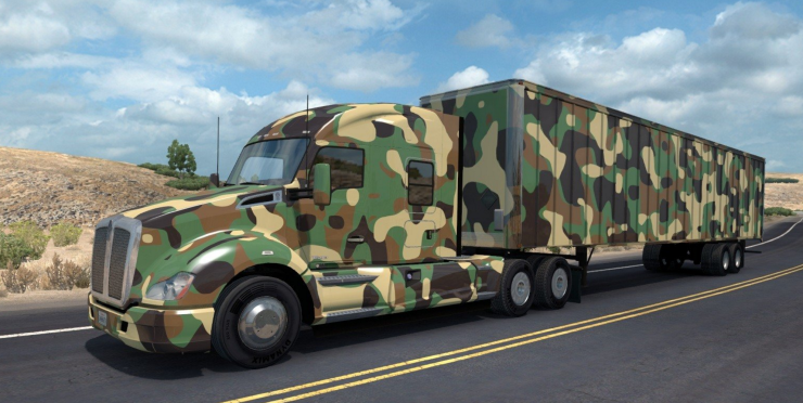 fanta truck ats army ats ats mod american truck simulator mod
