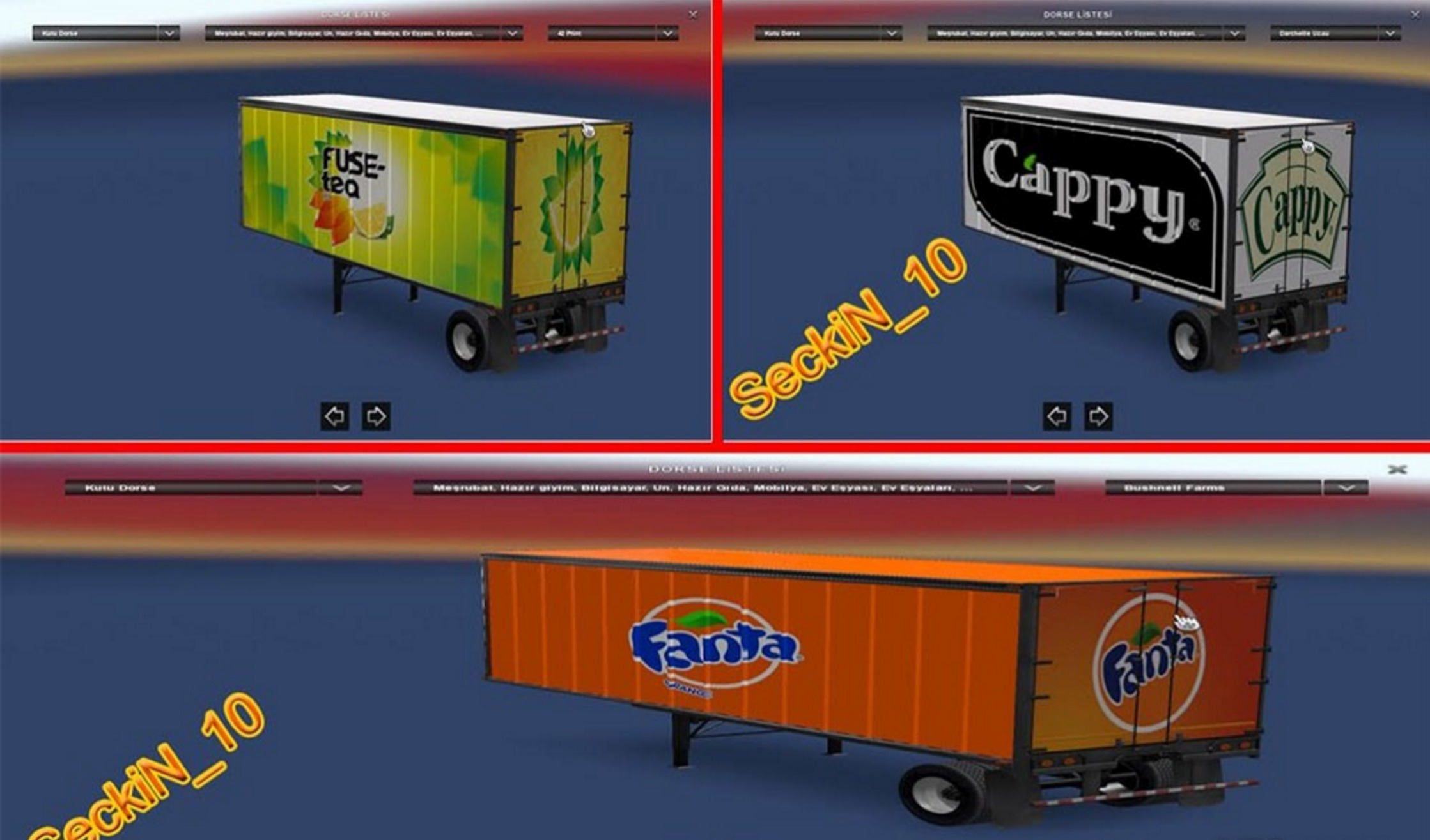 ATS Trailer pack for Mod - ATS mod / American Truck