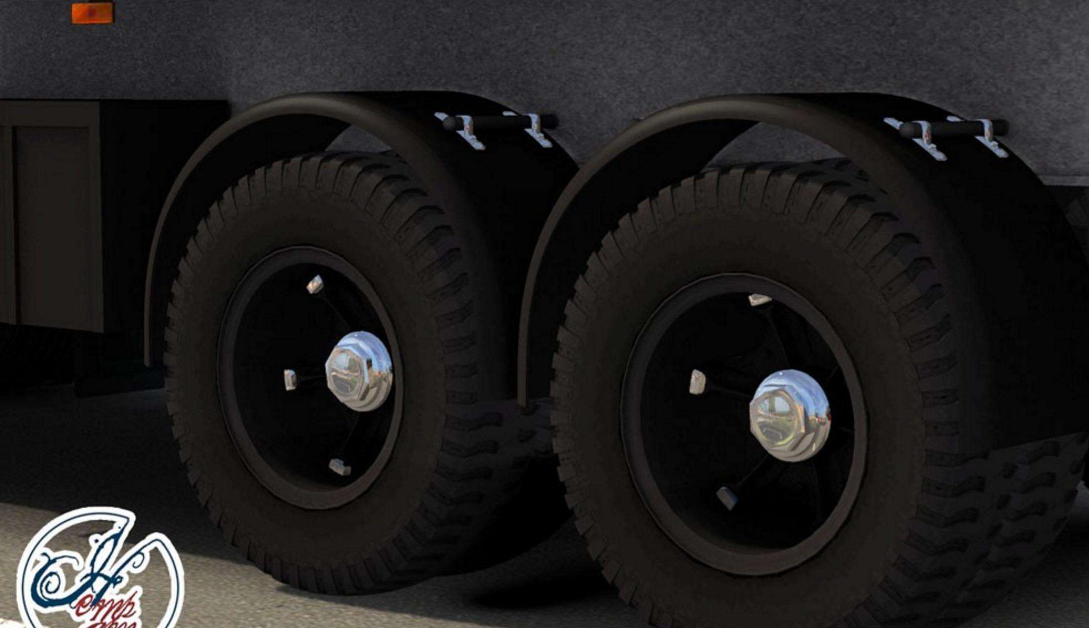 Iran Kave Saipa Trailer Mod - ATS mod / American Truck
