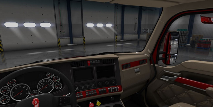Kenworth T680 Paint Interior For For Ats Ats Mod American Truck Simulator Mod