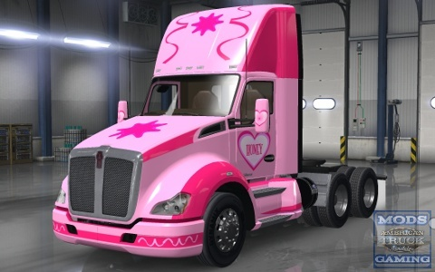 Kenworth T Templates For Ats