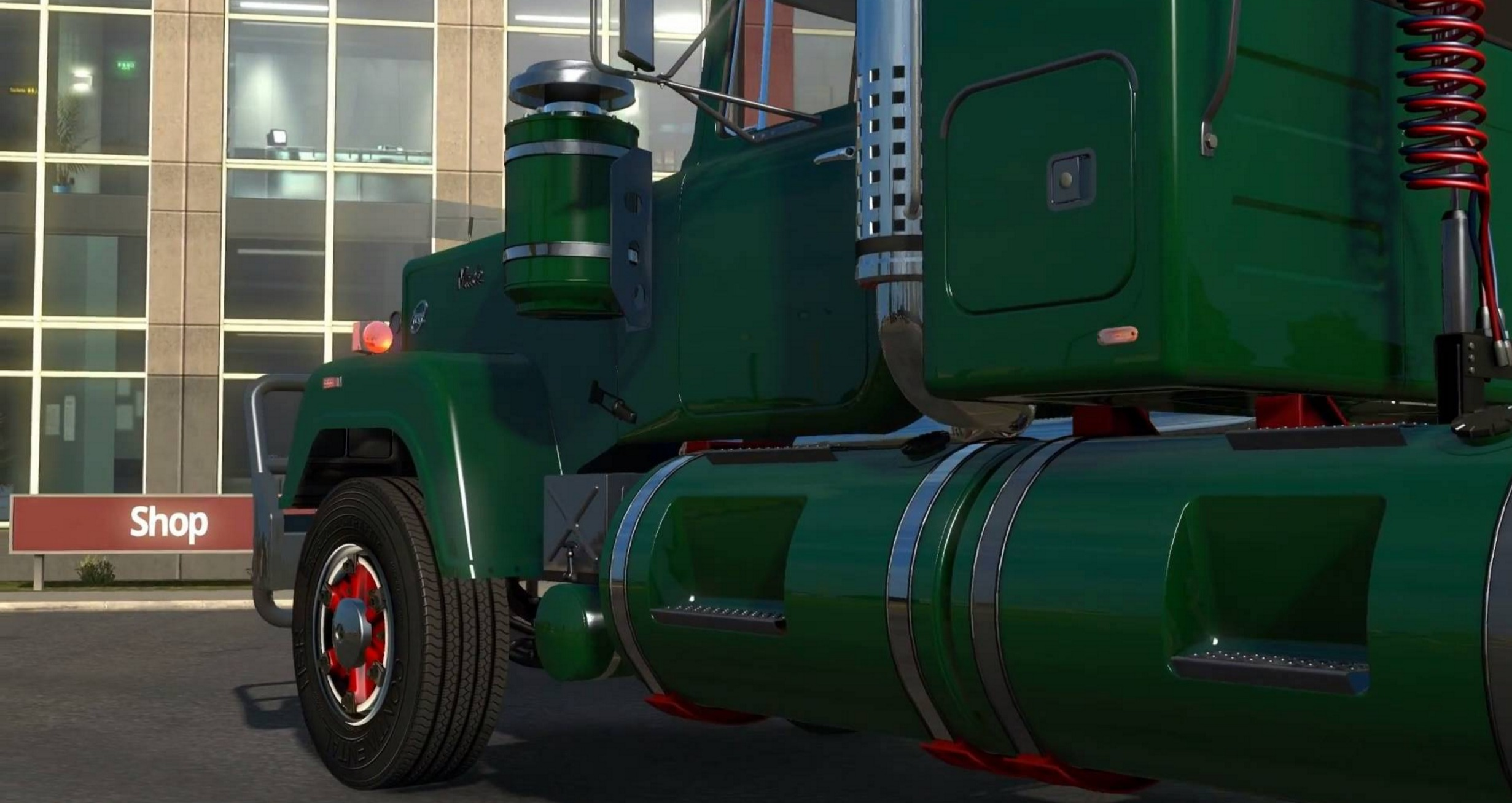 Mack Superliner for Mod - ATS mod / American Truck Simulator mod