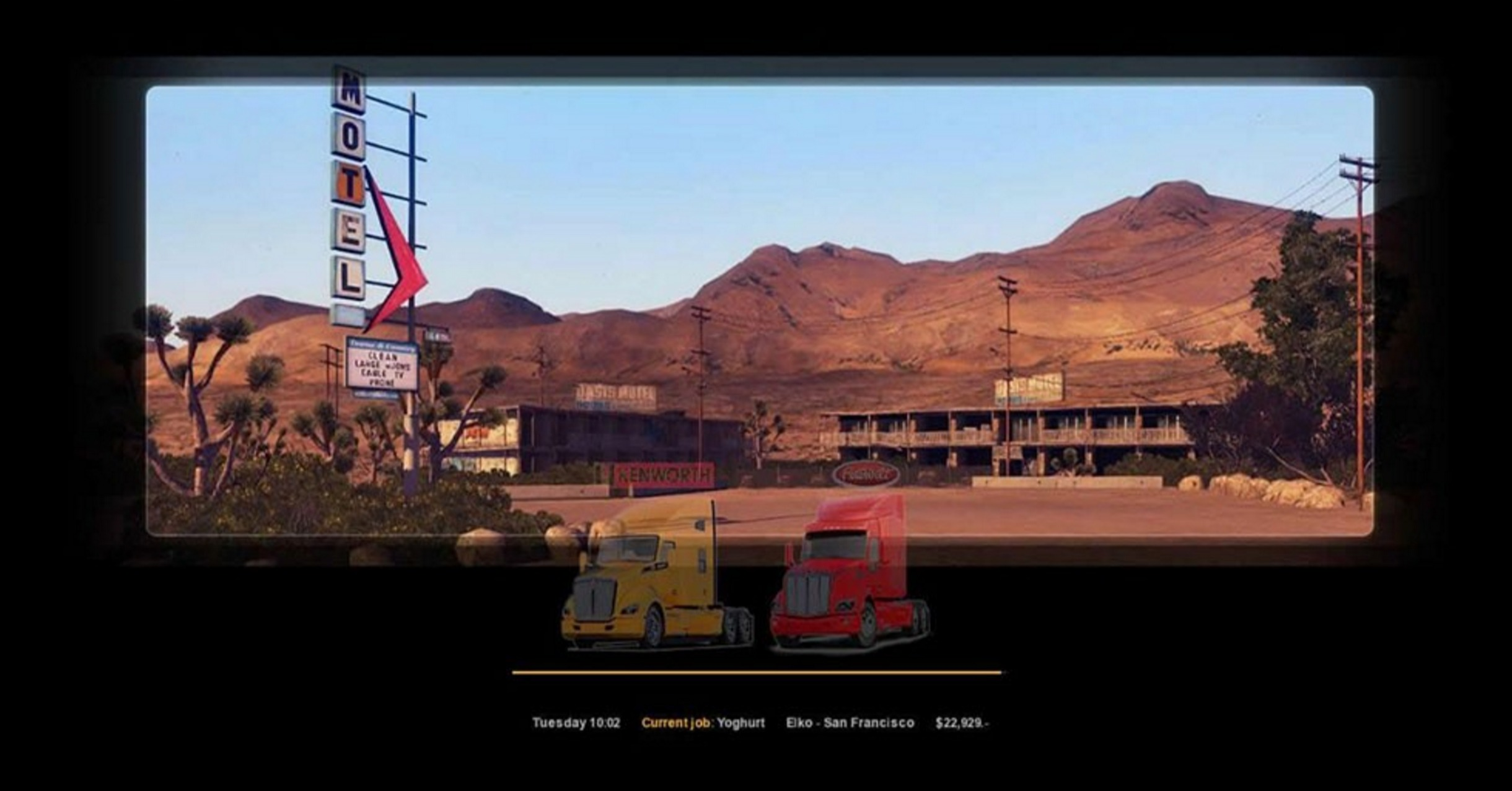 how to use two screens american truck sim