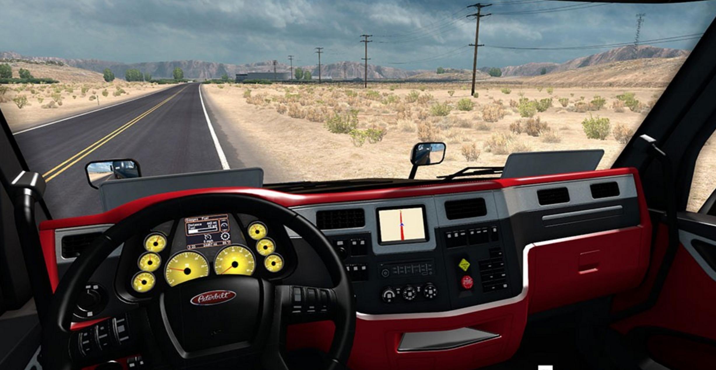Interiors Final Update: Peterbilt 579 Ferrari Interior FINAL Mod