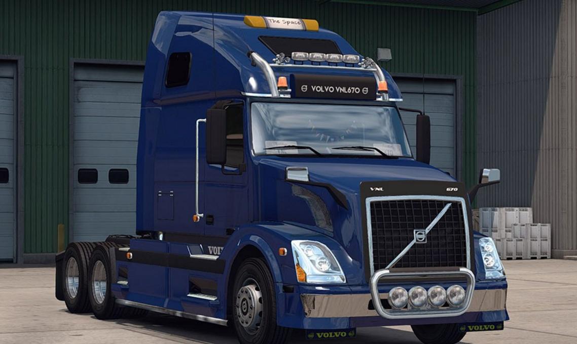 Volvo VNL 670 v 1.1 for ATS - ATS mod / American Truck ...