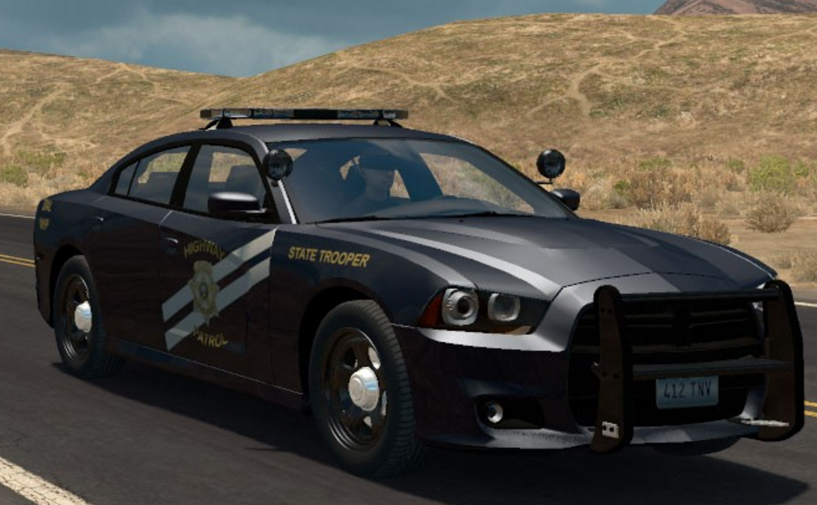 Dodge Charger Police Wiring Diagram Libraries 2012 Cruiser For Ats Mod American Truck2012