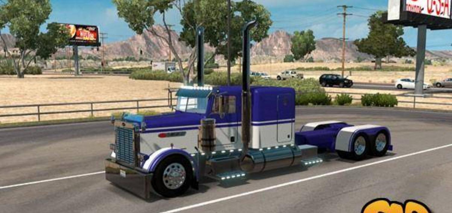 Custom 2 Truck Ats Ats Mod American Truck Simulator Mod