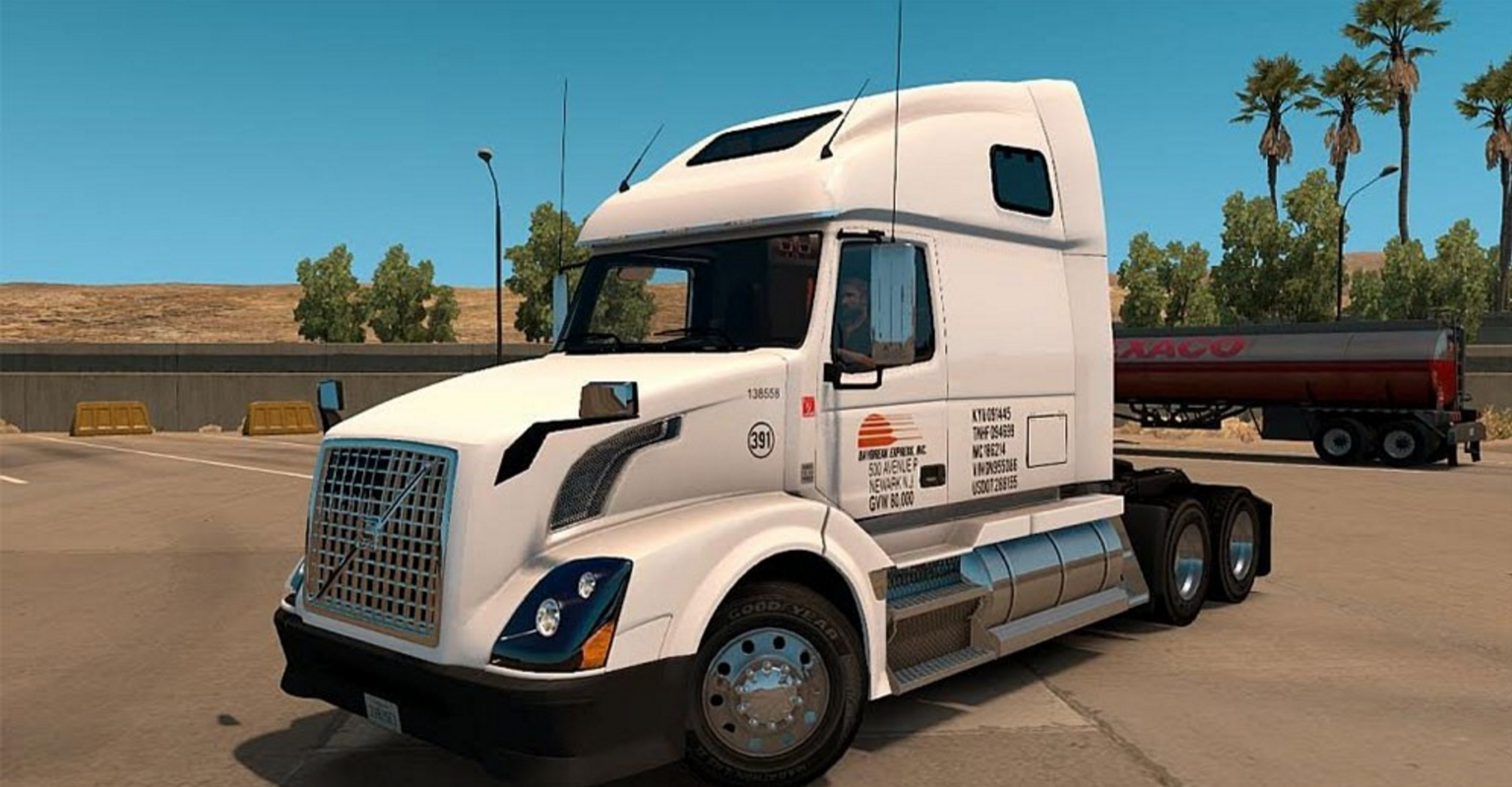 2017 Peterbilt 579 >> Daybreak Express Volvo VNL 670 ATS - ATS mod / American Truck Simulator mod