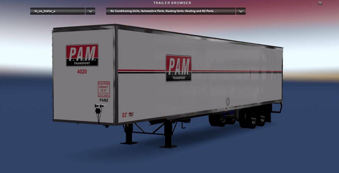 Dc Pam For Ats Ats Mod American Truck Simulator Mod