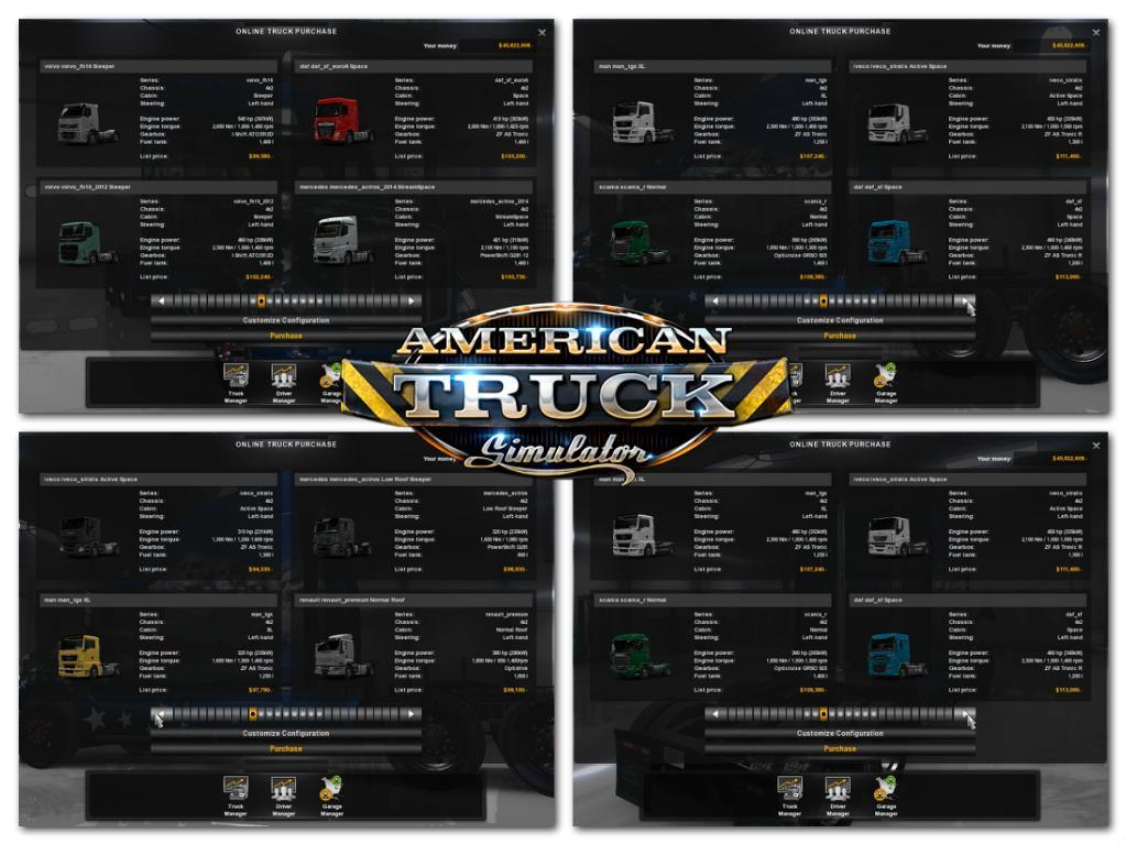 Ets2 Trucks For Pack V1 Ats Ats Mod American Truck