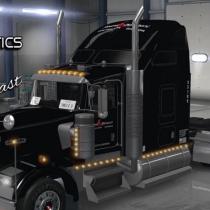 Stevens Transport Default Kenworth W900 Uncle D Logistics Ats Ats Ats Mod American Truck