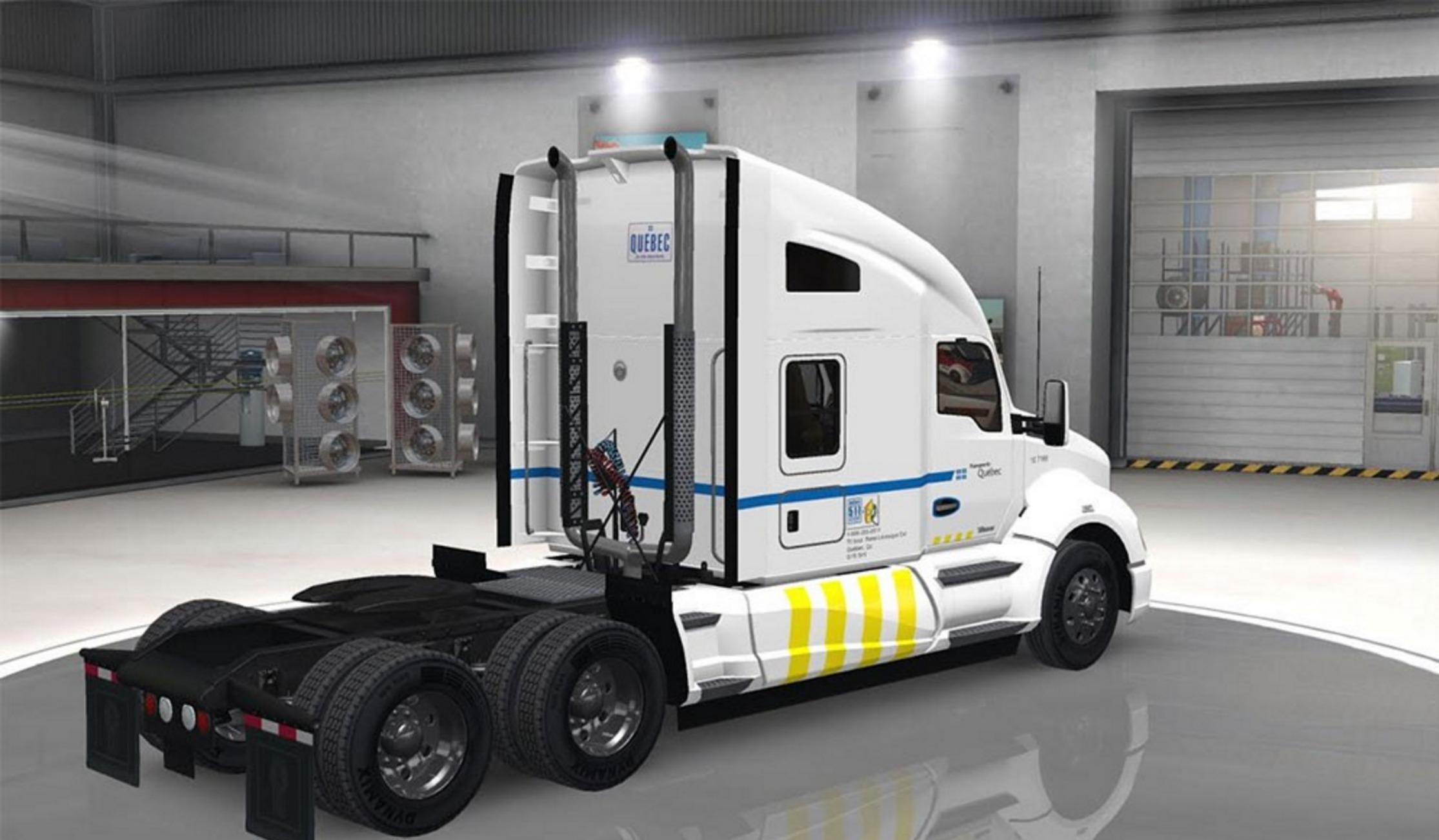 Transport Qu Bec For Kenworth T680 Mod Ats Mod American Truck Simulator Mod