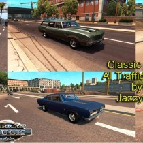 CLASSIC CARS AI TRAFFIC PACK BY JAZZYCAT V1 1 for for ATS