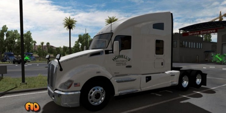 Howell S Motor Freight Inc Mod Skin Ats Mod American