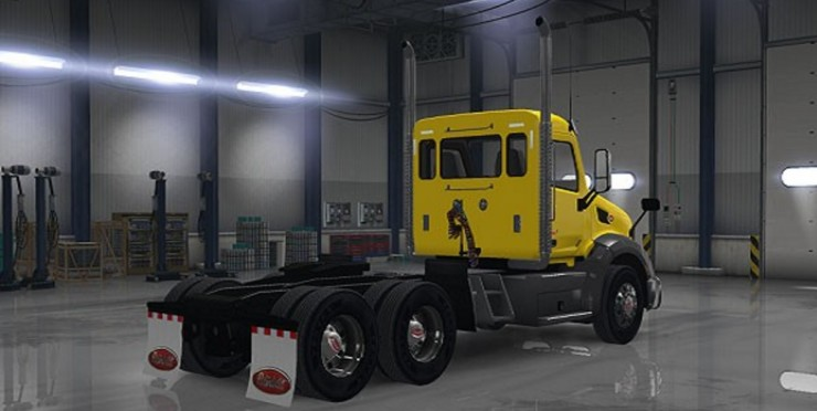 Skins ats mods american truck simulator mods for Howell s motor freight