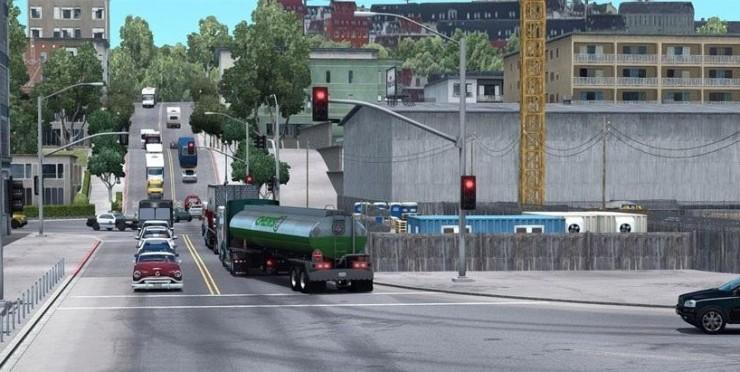 REAL GRAPHICS for Mod - ATS mod / American Truck Simulator mod