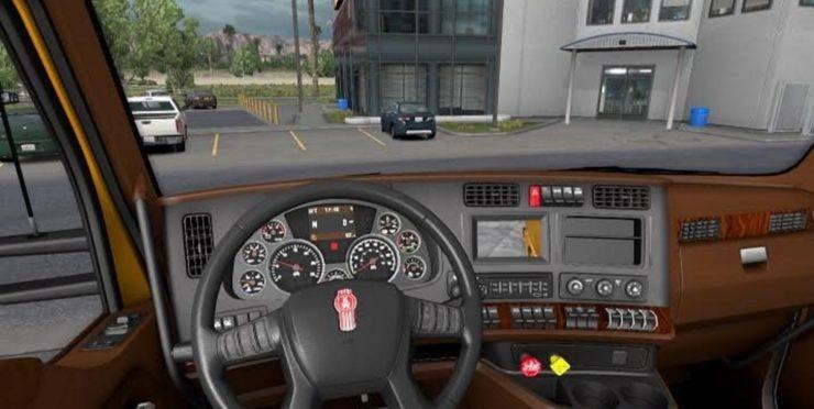 freightliner trucks interior. freightliner trucks dashboard kenworth t680 interior for ats mod american truck f