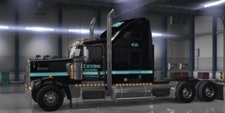 Ervins Transport Mod Mod Ats Mod American Truck Simulator Mod