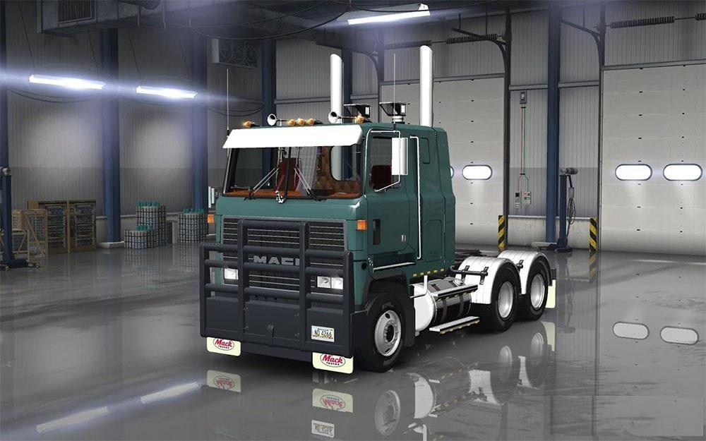 mack ultraliner v1 1 truck   ats mod american truck