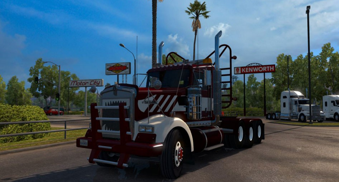 Volvo Semi Truck Parts >> W900 Day Cab Heavy Duty Standalone for ATS - ATS mod ...