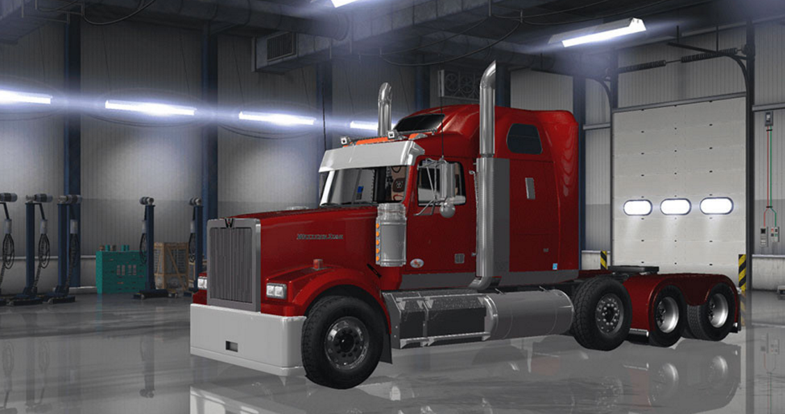 Western Star 5700 >> Western star 4900 custom parts for ATS - ATS mod / American Truck Simulator mod