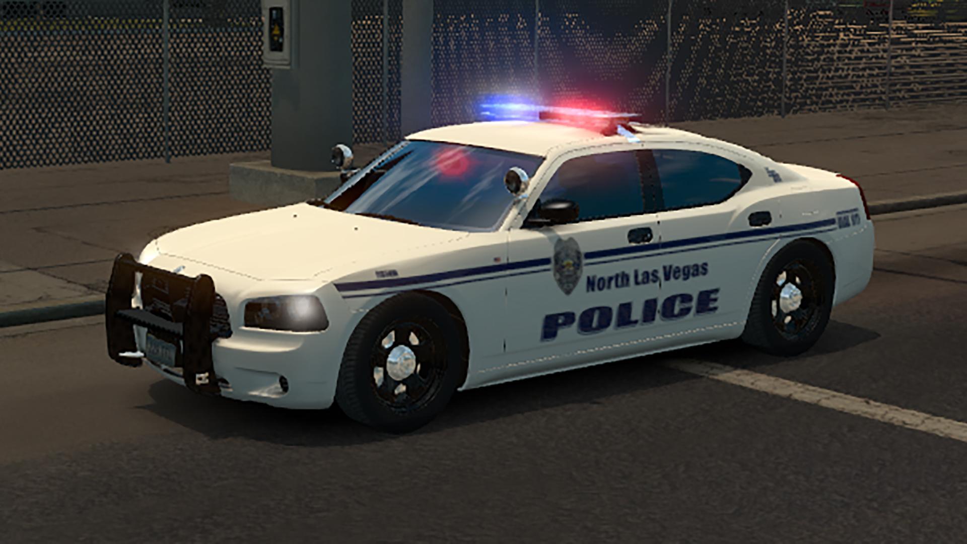 Usa Police Traffic 1 4 X Ats Ats Mod American Truck