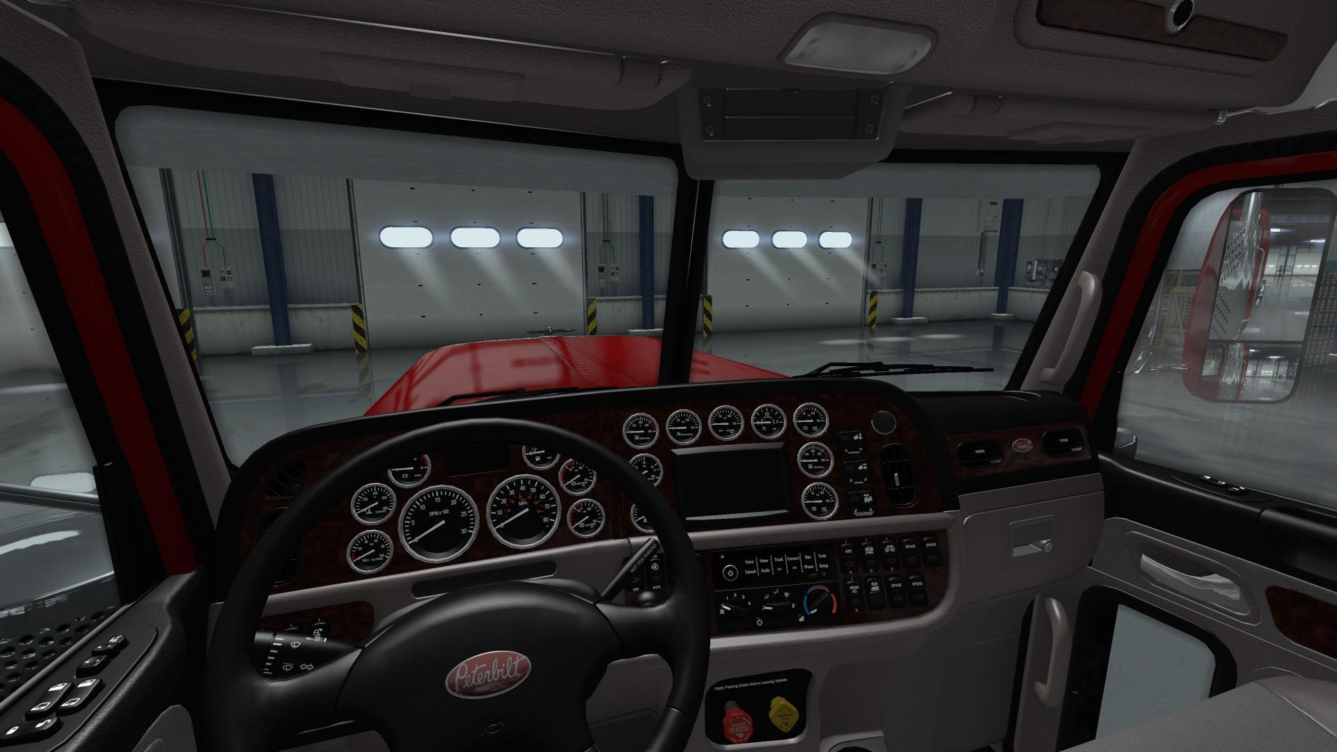 Peterbilt 389 Interior Exterior Rework V1 0 For Ats Ats Mod American Truck Simulator Mod