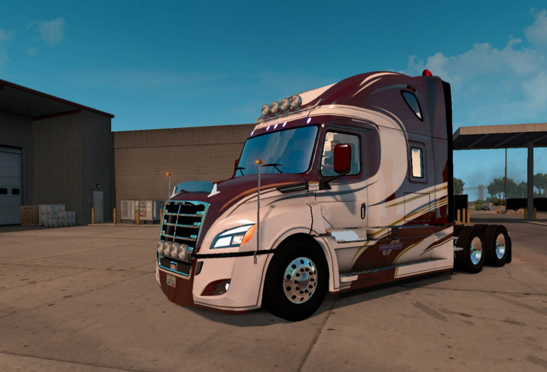 Freightliner Cascadia 2018 Mod For Ats Ats Mod American Truck Simulator Mod