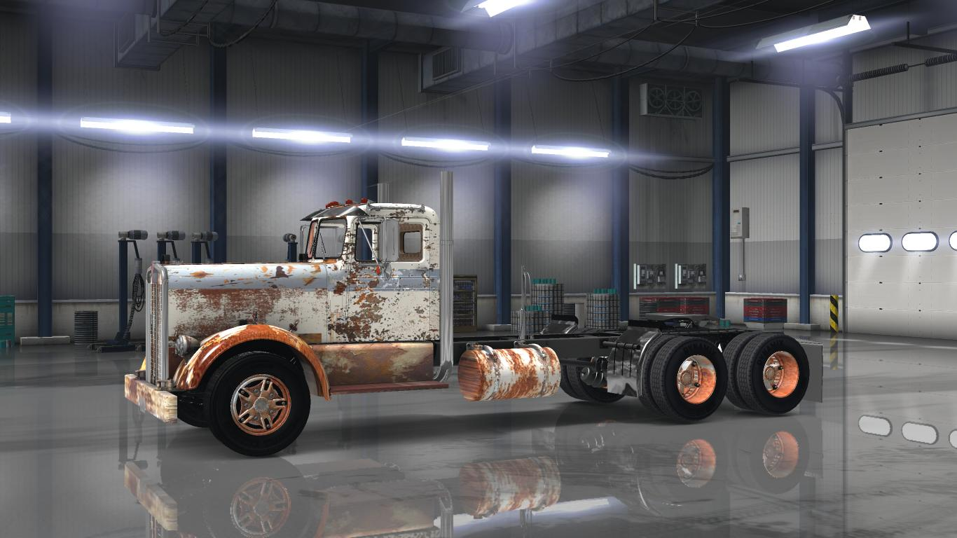 OLD RUSTY PAYWARE KENWORTH 521 V1.0 Mod - ATS mod / American Truck ...