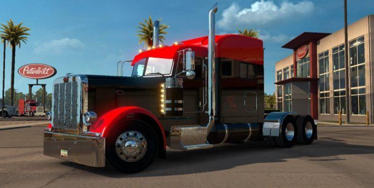 SCS PETERBILT 389 EDIT V1 2 ATS - ATS mod / American Truck