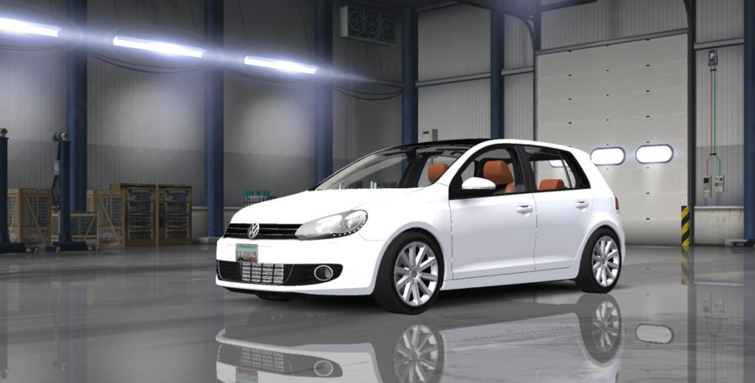 Volkswagen Golf Mk6 Mod Ats Mod American Truck