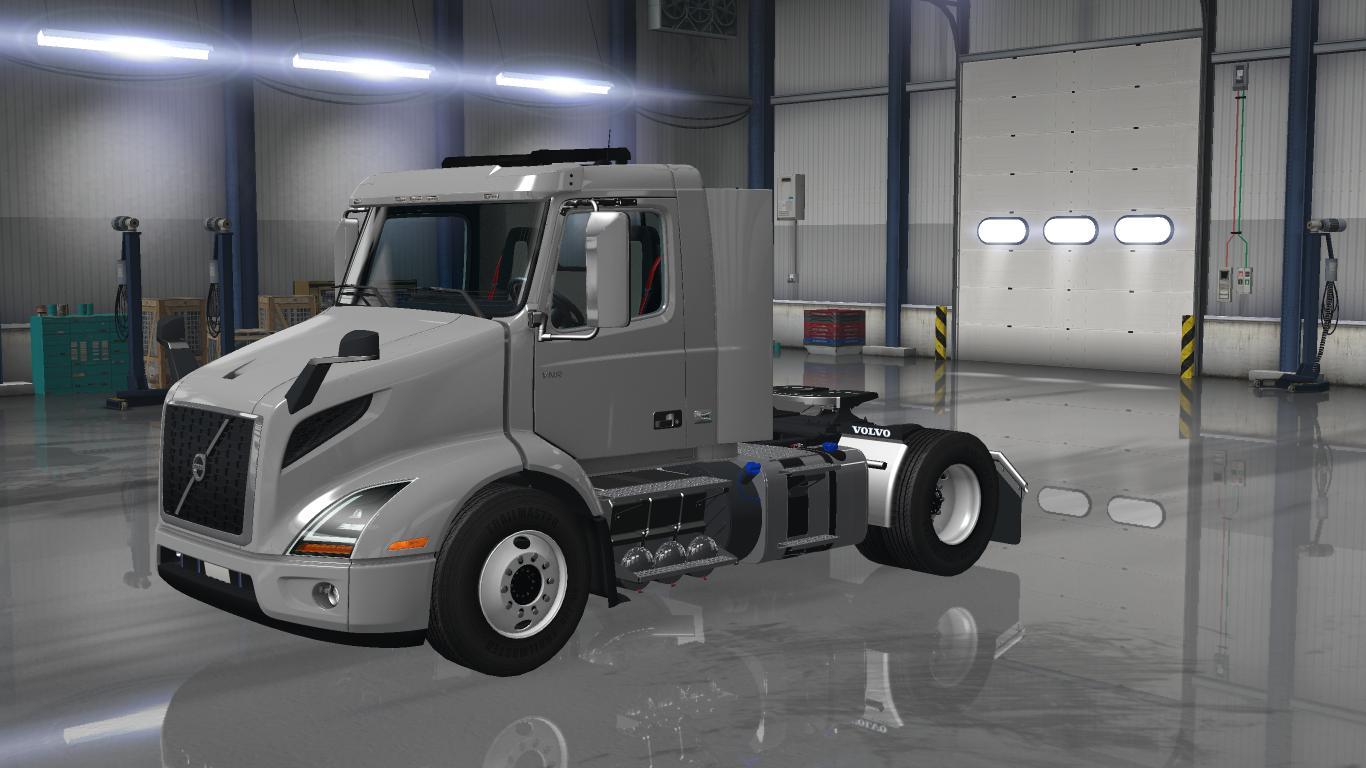 Volvo Truck Dealer >> VOLVO VNR 2018 1.28.X Truck - ATS mod / American Truck Simulator mod
