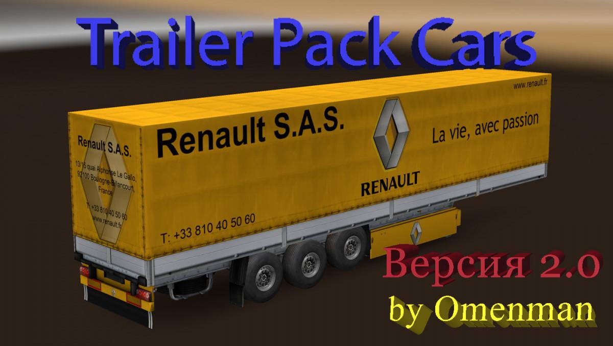Trailer Pack Cars v 2 0 ATS - ATS mod / American Truck