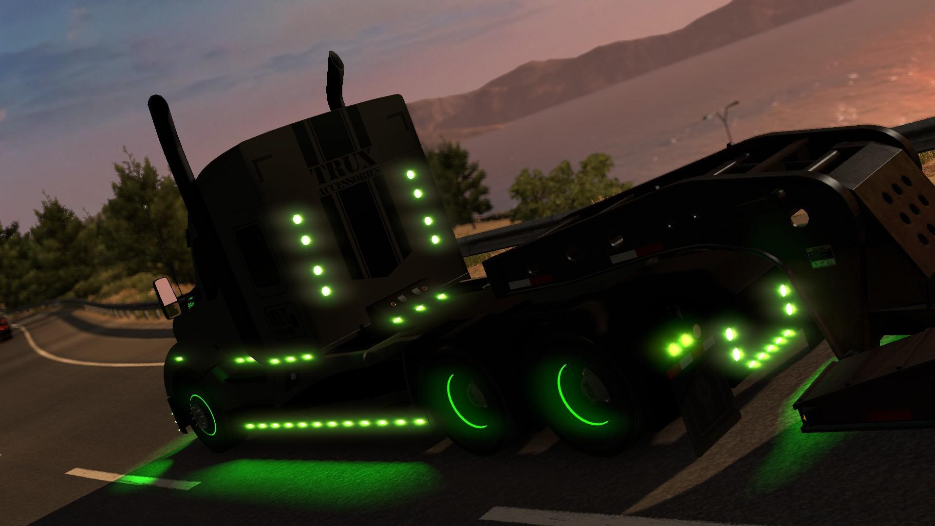 Kenworth T680 For Sale >> KENWORTH T680 THE GENERAL V1.0 1.29.X-1.30.X MOD Truck - ATS mod / American Truck Simulator mod