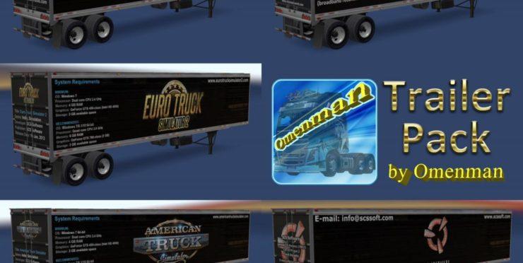 Trailer Pack Games - ATS mods / American Truck Simulator mods