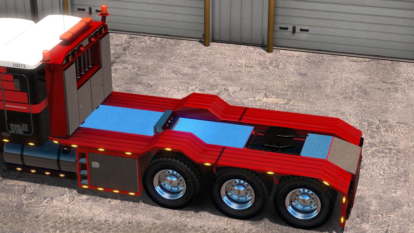Special Transport Accessories + Caterpillar skins v2 0 Mod - ATS mod