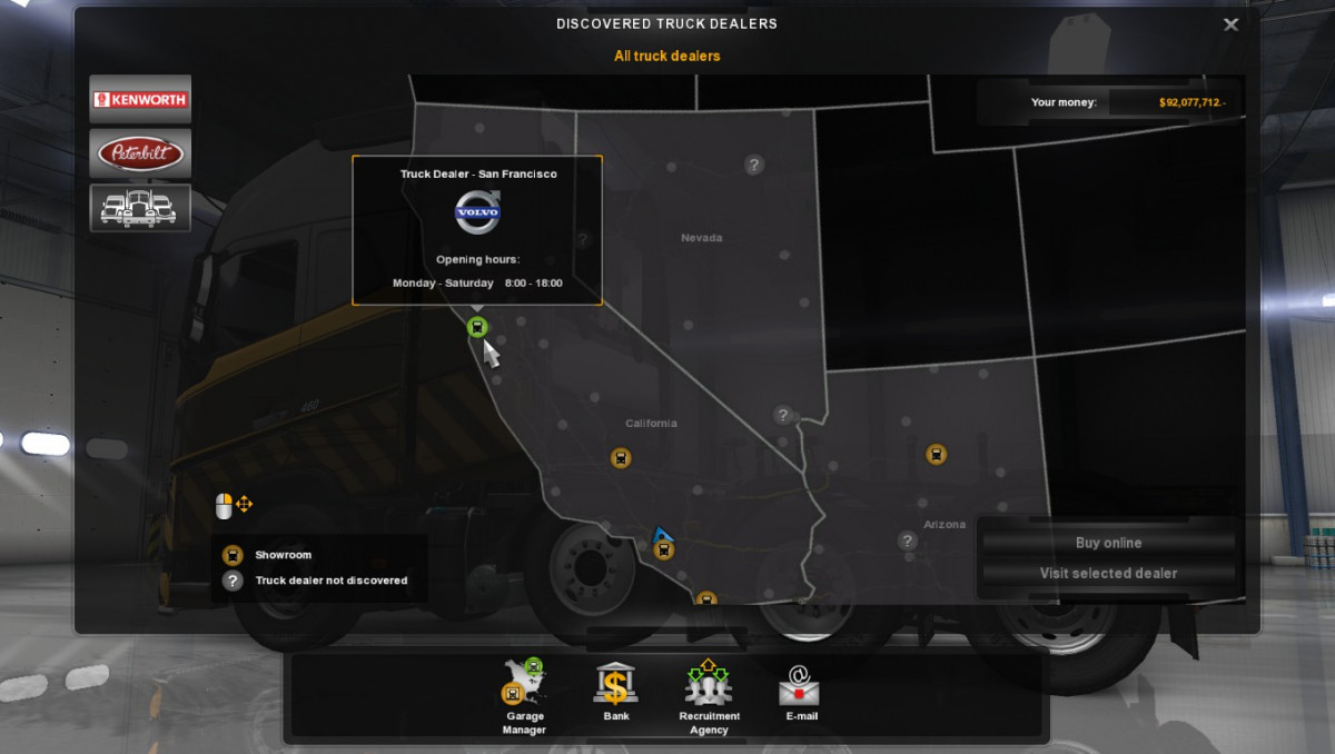 Volvo Truck Dealer >> Volvo FH16 Trucks v 3.6 ATS - ATS mod / American Truck Simulator mod