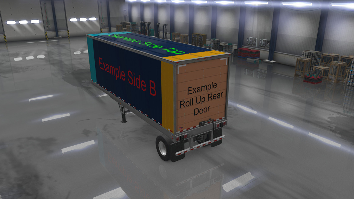 ats owned trailers templates with example mod mod ats mod