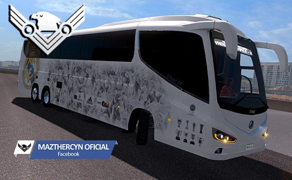 Skin Real Madrid FC and Irizar i8 Bus 1 31 for ATS - ATS mod