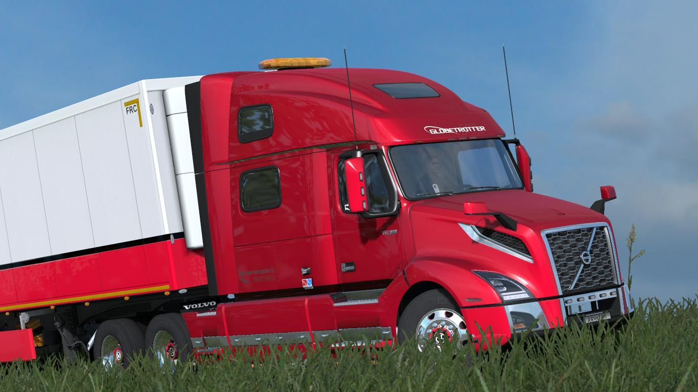 Volvo Truck Parts >> VOLVO VNL Globetrotter (2019) 1.31 ATS - ATS mod / American Truck Simulator mod