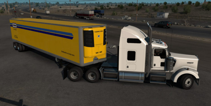 Custom 53 Ats Mod Ats Mod American Truck Simulator Mod