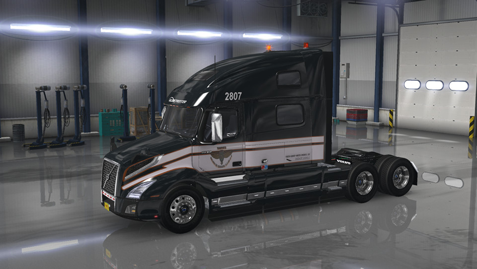Volvo Truck Parts >> Pack of Skins for Volvo VNL 2019 Mod - ATS mod / American Truck Simulator mod