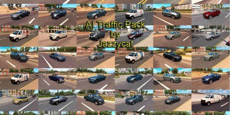 Ai Traffic Pack By Jazzycat V5 2 Mod Ats Mod American