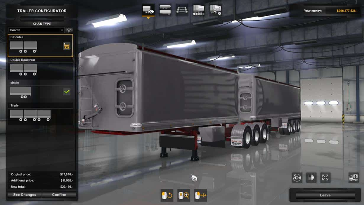Lusty Tippers v1.0 1.32.x Trailer - ATS mod / American Truck Simulator mod