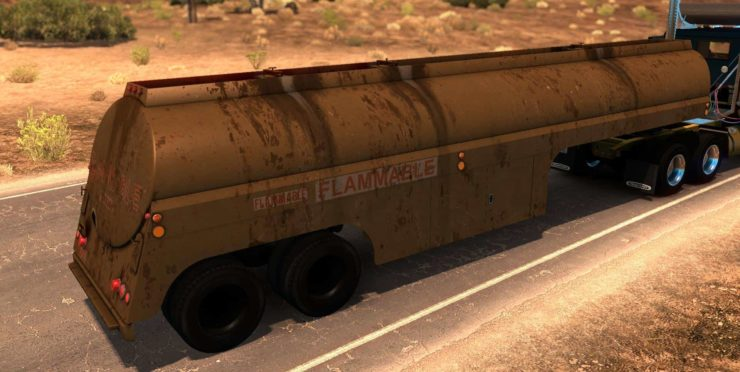 Ownable 50s Fruehauf Tanker – Duel v1 0 Mod - ATS mod