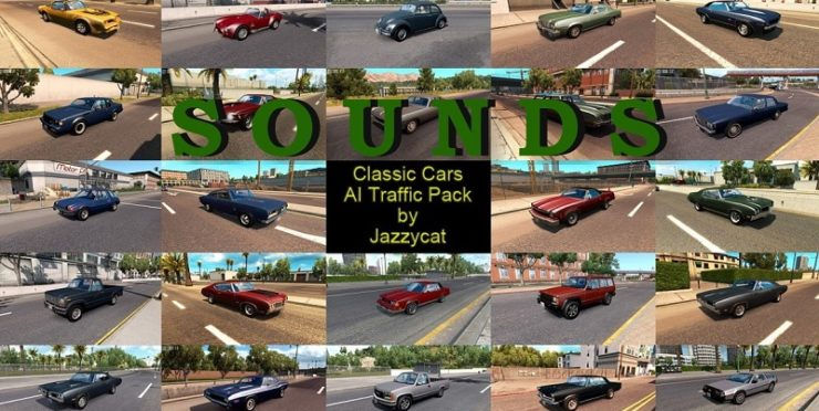 Sounds for Classic Cars AI Traffic Pack by Jazzycat v 2 6